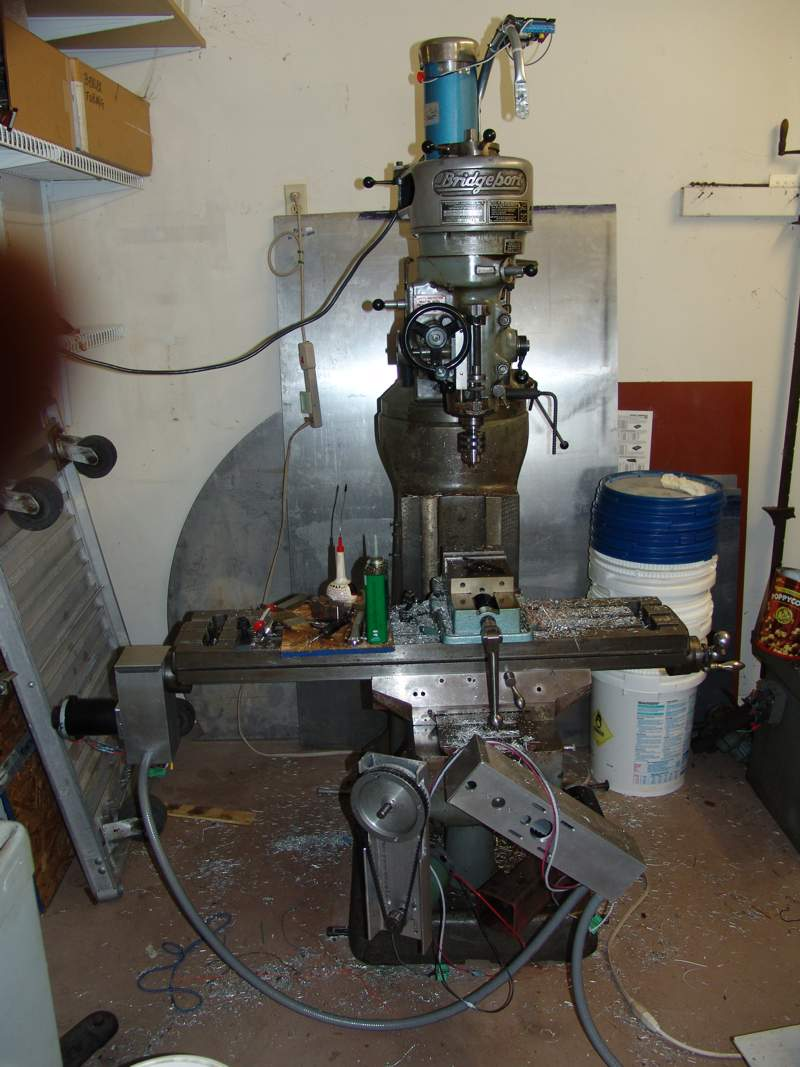 converting a bridgeport to cnc rh truetex com Series 1 Bridgeport Spindle Bearings Knee Mill