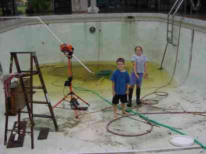 Swimming pool plastering do it yourself project - How long after pool shock before swim ...