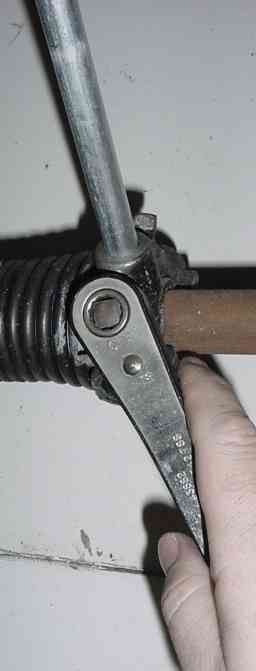 Garage Door Torsion Spring Replacement