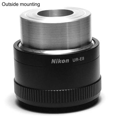 46mm Microscope Dovetail to M42x1 Male Thread Mount Adapter Wide