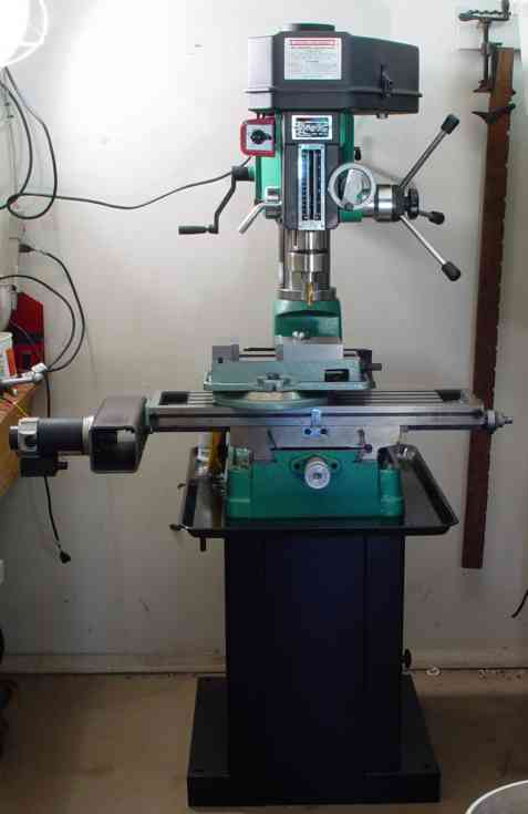 CNC Servomotor Drives for the Mill-Drill X-axis and Y-Axis